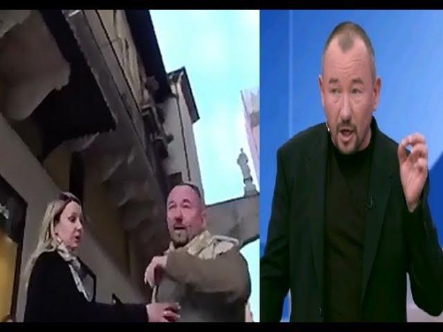 Клянусь убил бы Отрезал бы голову сука украинский десантник Шейнину в Италии