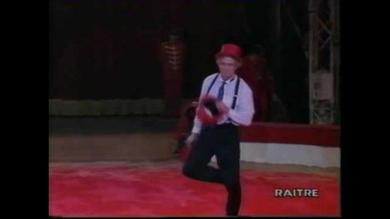 Kristian Kristof al II° Gran Premio del Circo di Genova nel 1994