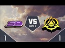 SWC2018 CONSOLE LEAGUE полуфинал Strickly Business vs Myth Gaming игра 3