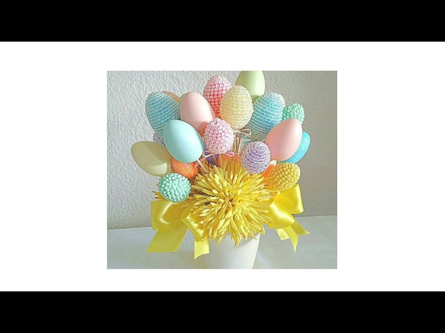 DIY| FOUR EASTER FLORAL CENTERPIECES/ BUDGET FRIENDLY... EASTER GIFTS, SPRINGTIME FUN!