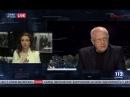 Олег Соскин и Олеся Яхно в Вечернем прайме телеканала 112 Украина, 29.12.2017