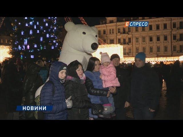 Католицьке Різдво на Софійській площі
