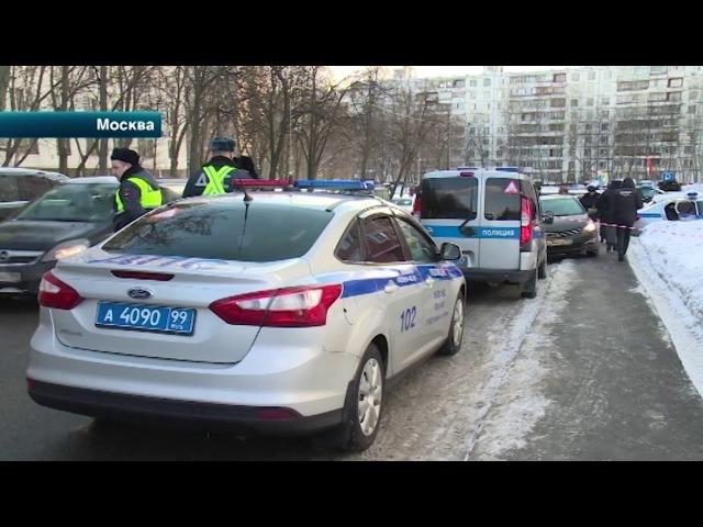Следователи устанавливают личность киллера, расстрелявшего бизнесмена в Москве