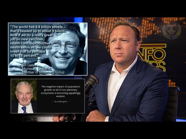 Алекс Джонс: тайна личности Билла Гейтса, фонд Гейтсов - империя евгеники