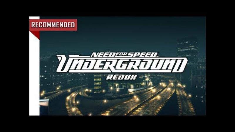 [NEW TRAILER] Need for Speed Underground - Redux 2017 [GRAPHICS MOD] | NFSU REDUX 1080p60