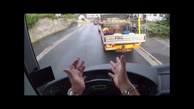 Автобус Сетра (Setra) гоняю по Германии