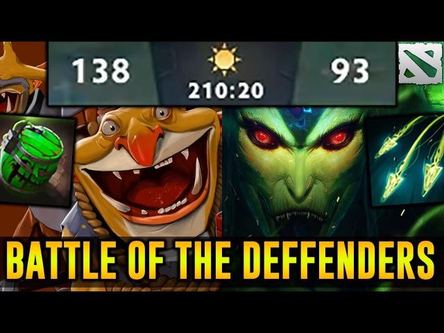 210 Minutes Game - Techies vs Medusa - Battle of the Defenders Dota 2