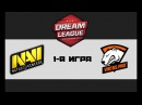 NaVi vs VP 1 bo3 DreamLeague 8, 01.12.17