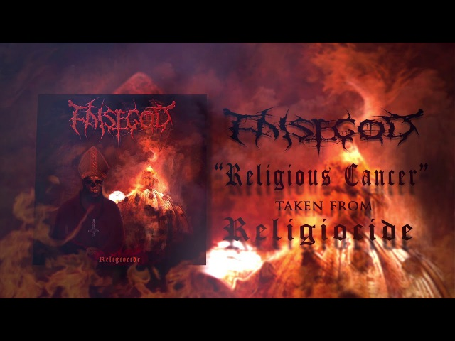 FALSEGOD - Religious Cancer - (Official Lyric Video) | Vile Preasure Records