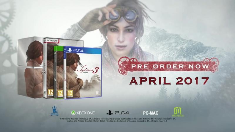 Syberia 3 - Exclusive Trailer_Full-HD