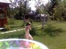 Аля Трюк в бассейне 18 июля 2010 года