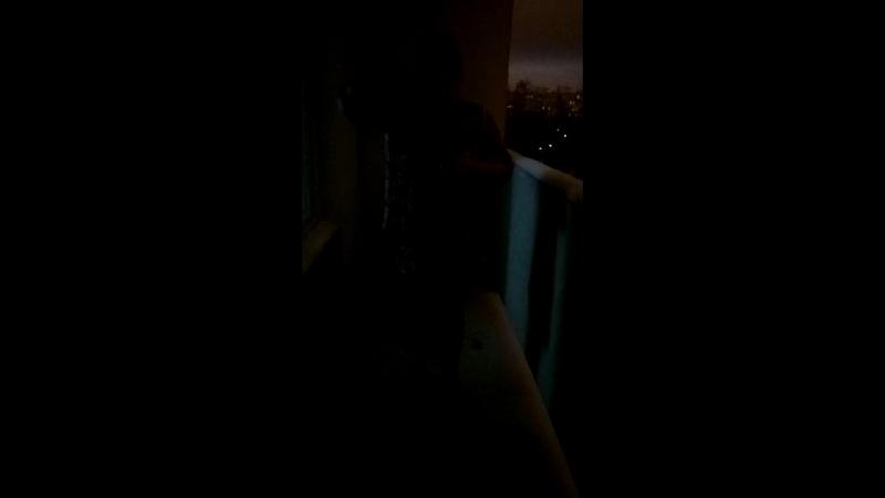 Не смогла выехать в купель организовала купель дома на балконе
