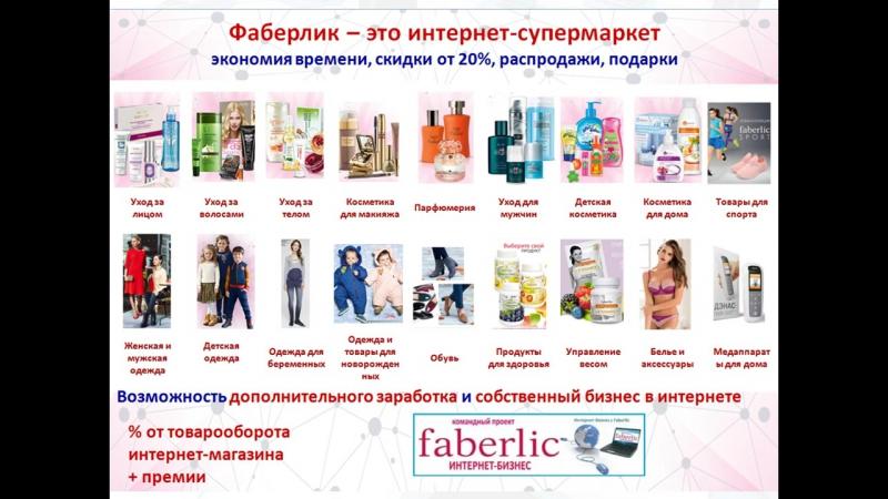 Интернет_бизнес _с_Фаберлик Антипенко Анна
