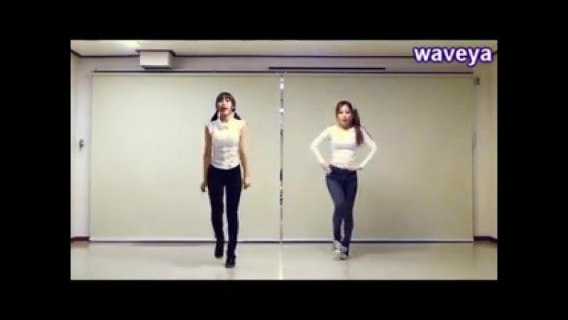 T-ara(티아라)lovey dovey dance tutorial 러비더비★ Waveya Ari Miu - kpop cover dance.240