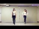 T-ara티아라lovey dovey dance tutorial 러비더비★ Waveya Ari Miu - kpop cover dance.240