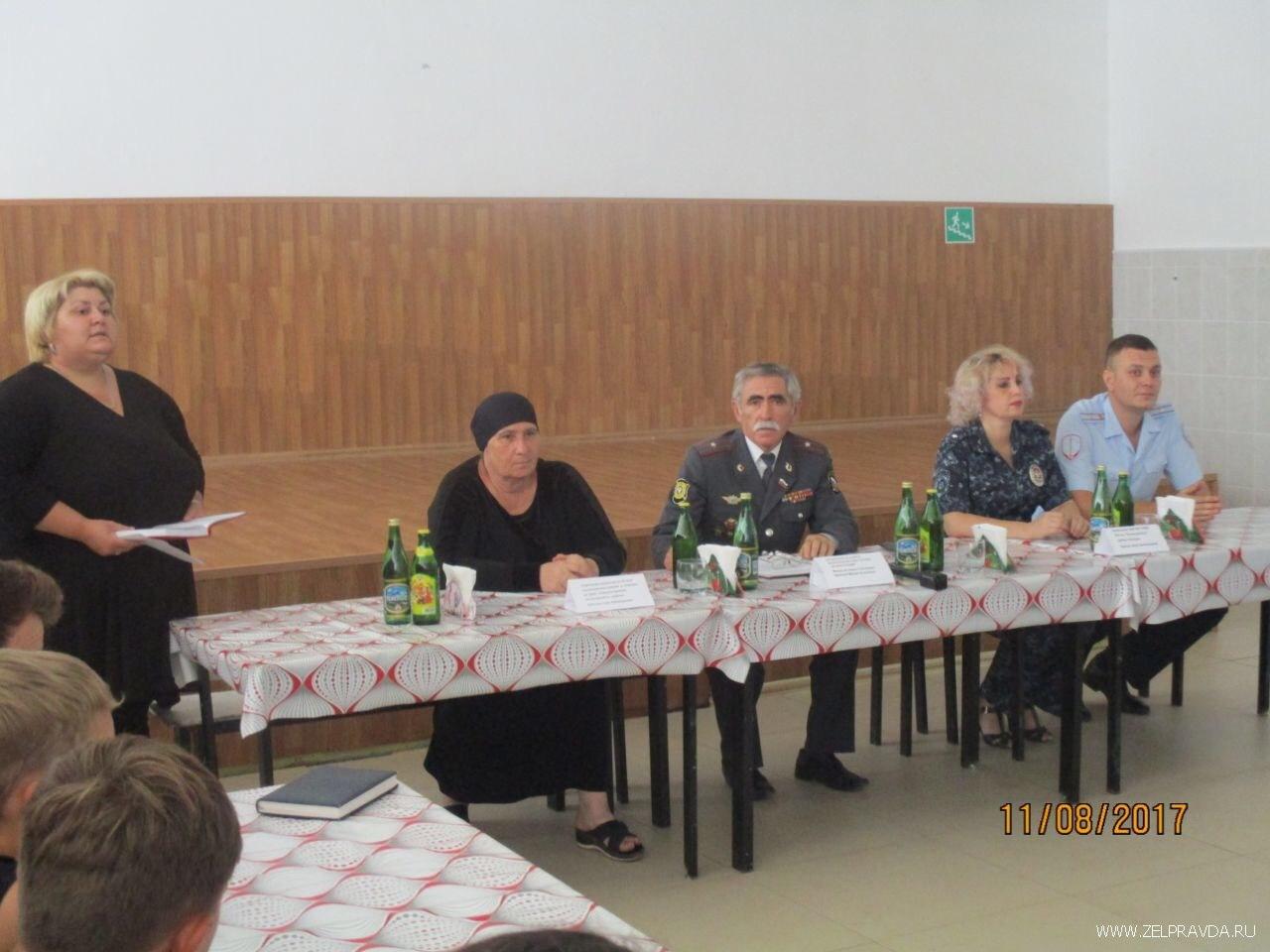 В Даусузской «Сосенке» обсудили вопросы культурно-нравственного воспитания молодежи