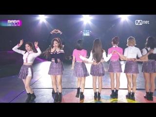 Twice - TT + Signal @ 2017 MAMA in Japan 171129