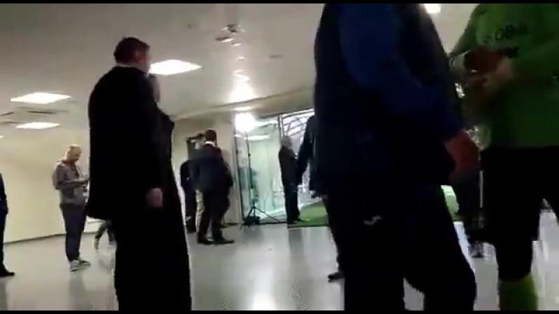 После матча Зенит 2 Урал 0