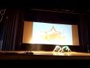 Гимнастический танец. Кристина и Ясмина.
