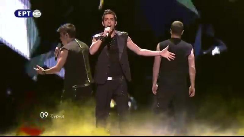 Eurovision 2011- Cyprus - Christos Mylordos -San Aggelos S-u0027agapisa (2nd Semi-Final)