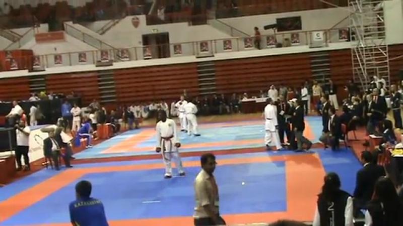 Karate WKF - Dubai Open - J.Mulolo (BEL) vs G. Arkania (GEO)