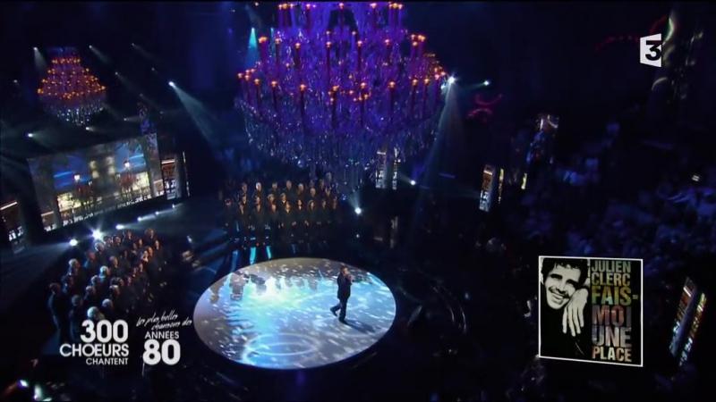 300 chœurs chantent les plus belles chansons des annees 80_France 3_24.11.2017