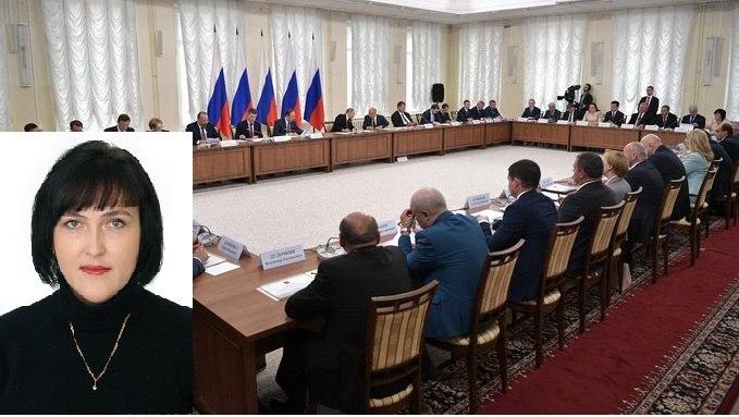 Ольга Хомякова приняла участие в заседании Совета по развитию местного управления