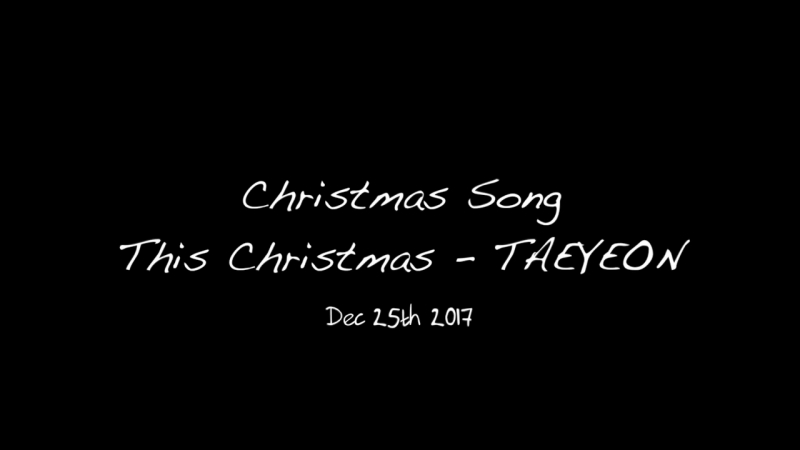 TAEYEON - This Christmas (Cover by Hyebin (HIGHTEEN))