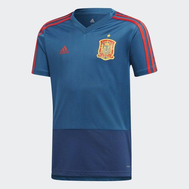 Тренировочная футболка сборной Испании