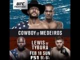 #UFCAustin Cowboy vs Medeiros