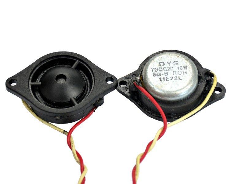 Aiyima 2 шт. Миниатюрные высокочастотные динамики 25 Вт, 8 Ом, неодимовый магнит и шелковая диафрагма