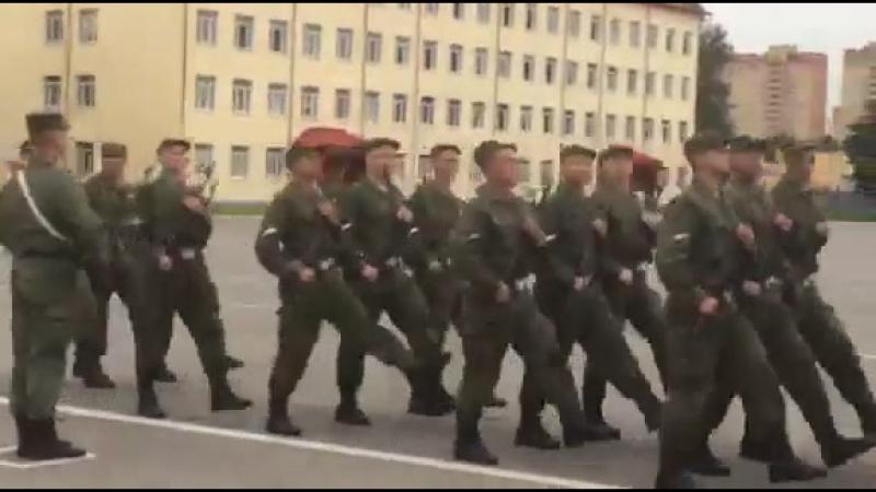 Присяга 22 июля 2017г. в/ч 3500 3 учебная рота