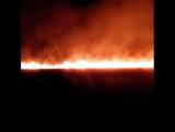 Ночью горело поле по ул.Автотранспортной  между Октябрьским и Зеленым микрорайонами.