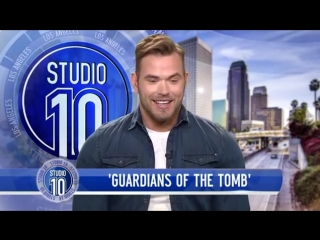 Kellan Lutz Tells How He Met His Wife & Talks 'Guardians Of The Tomb' | Studio 10