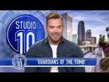 Kellan Lutz Tells How He Met His Wife & Talks Guardians Of The Tomb   Studio 10