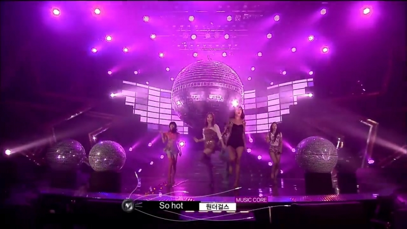 Wonder Girls - So Hot @ Comeback Stage, Show! Music core