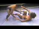 Nancy Skaravan vintage mixed wrestling
