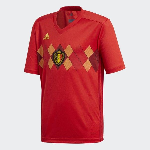 Домашняя игровая футболка сборной Бельгии