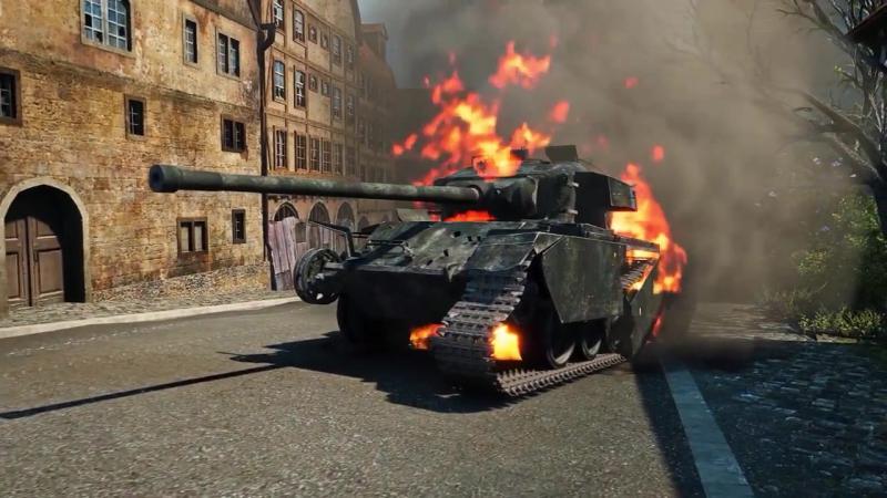 Марафон - Музыкальный клип [World of Tanks]