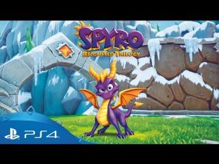Spyro reignited trilogy | анонсирующий трейлер | ps4