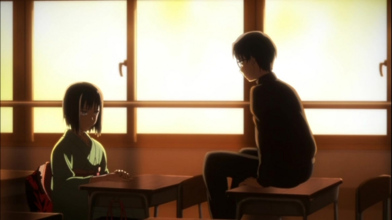 Граница пустоты / Kara no Kyoukai (1-4 фильм)