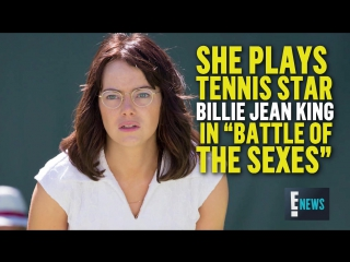 How emma stone gained 15 pounds for battle of the sexes  e! news