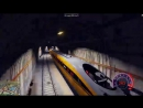 КАК ОСТАНОВИТЬ САМЫЙ БЫСТРЫЙ ПОЕЗД ЭКСПЕРИМЕНТЫ ГТА 5 МОДЫ ОБЗОР МОДА GTA 5 веселая игра как мультик