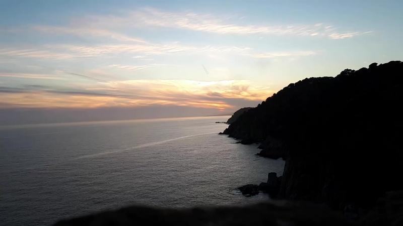 Закат. Испания, Тосса-де-Мар