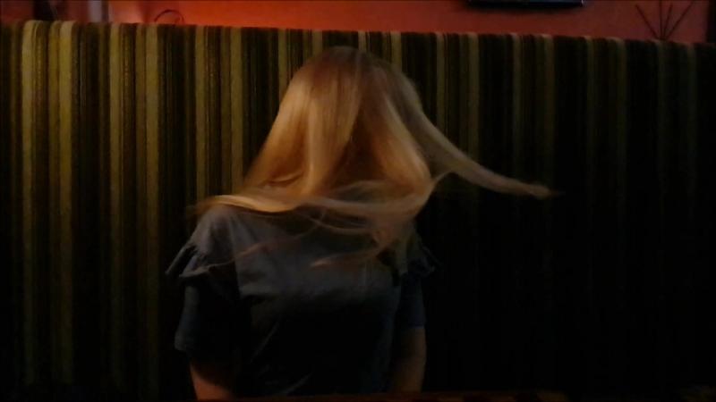 Когда сбылась мечта записать волосы в слоу мо :D