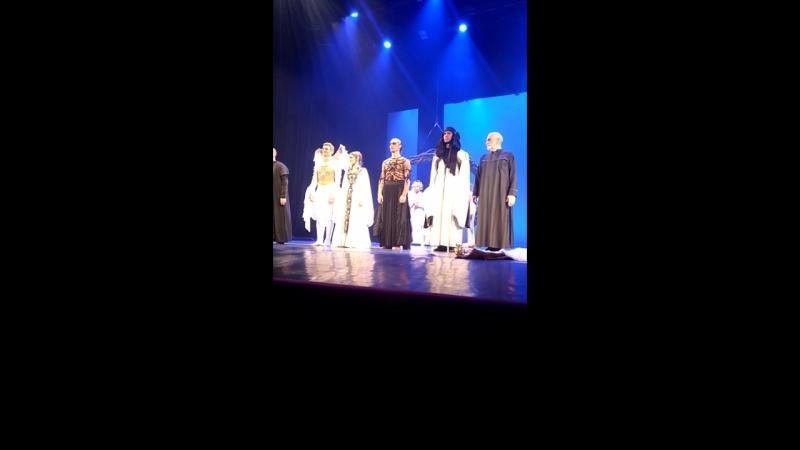 Поклоны спектакль Демон театр им.Ермоловой 16.11.17