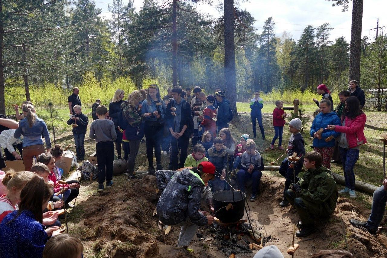 Реконструкторский лагерь выходного дня для детей