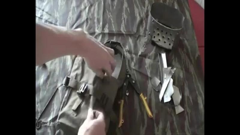Печка щепочница для армейского котелка своими руками