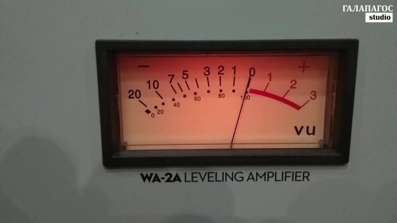 Valery Arno. Запись вокала на ГАЛАПАГОС studio