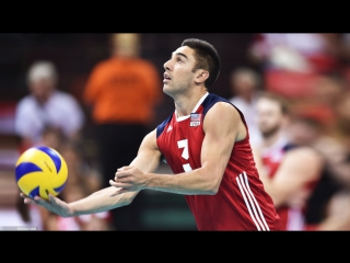 Top 10 Best Volleyball Spikes by Taylor Sander - FIVB Volleyball World League 2017